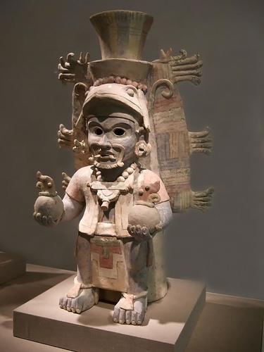 Urne van de Maya's