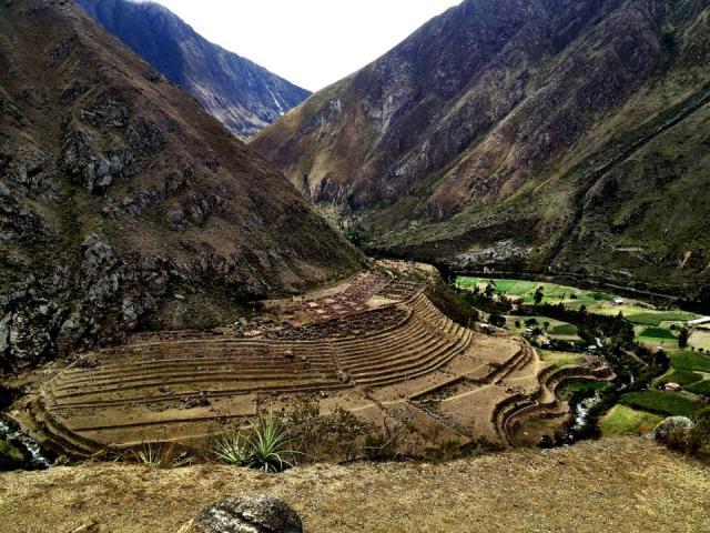 Llactapata Inca rui…