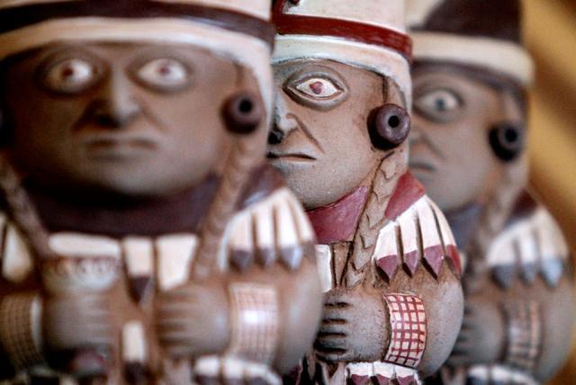 Moche aardewerk